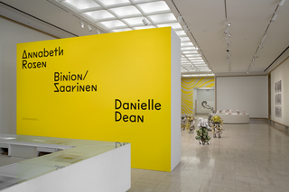 <em>Fall 2018 Exhibitions</em>, Exhibition Identity Design, Cranbrook Art Museum, 2018. Photo by PD Rearick